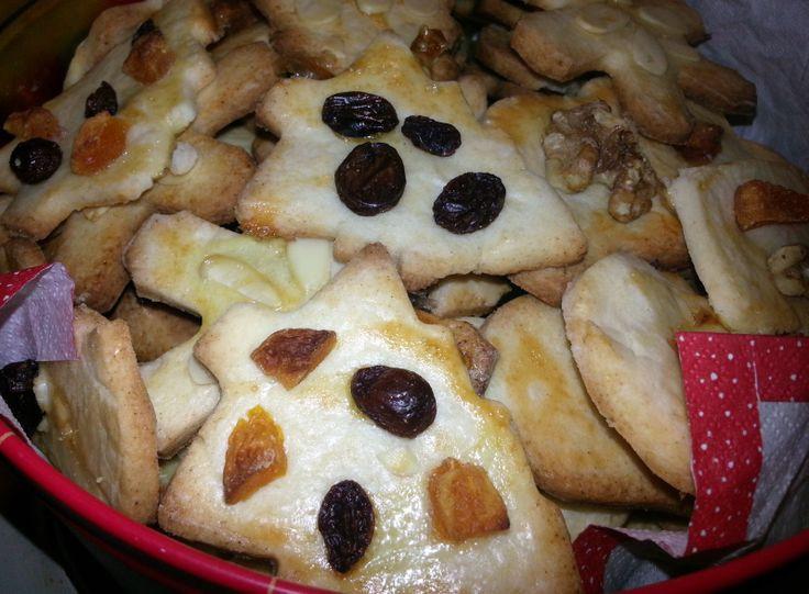 Slovak Christmas Cookies  Kruche Ciasteczka Cukrov z Křehkého Těsta Traditional