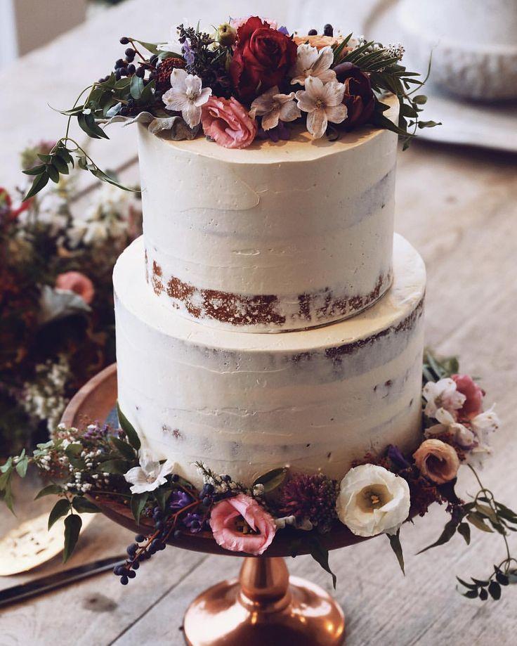 Small Fall Wedding Cakes  Best 25 Small wedding cakes ideas on Pinterest