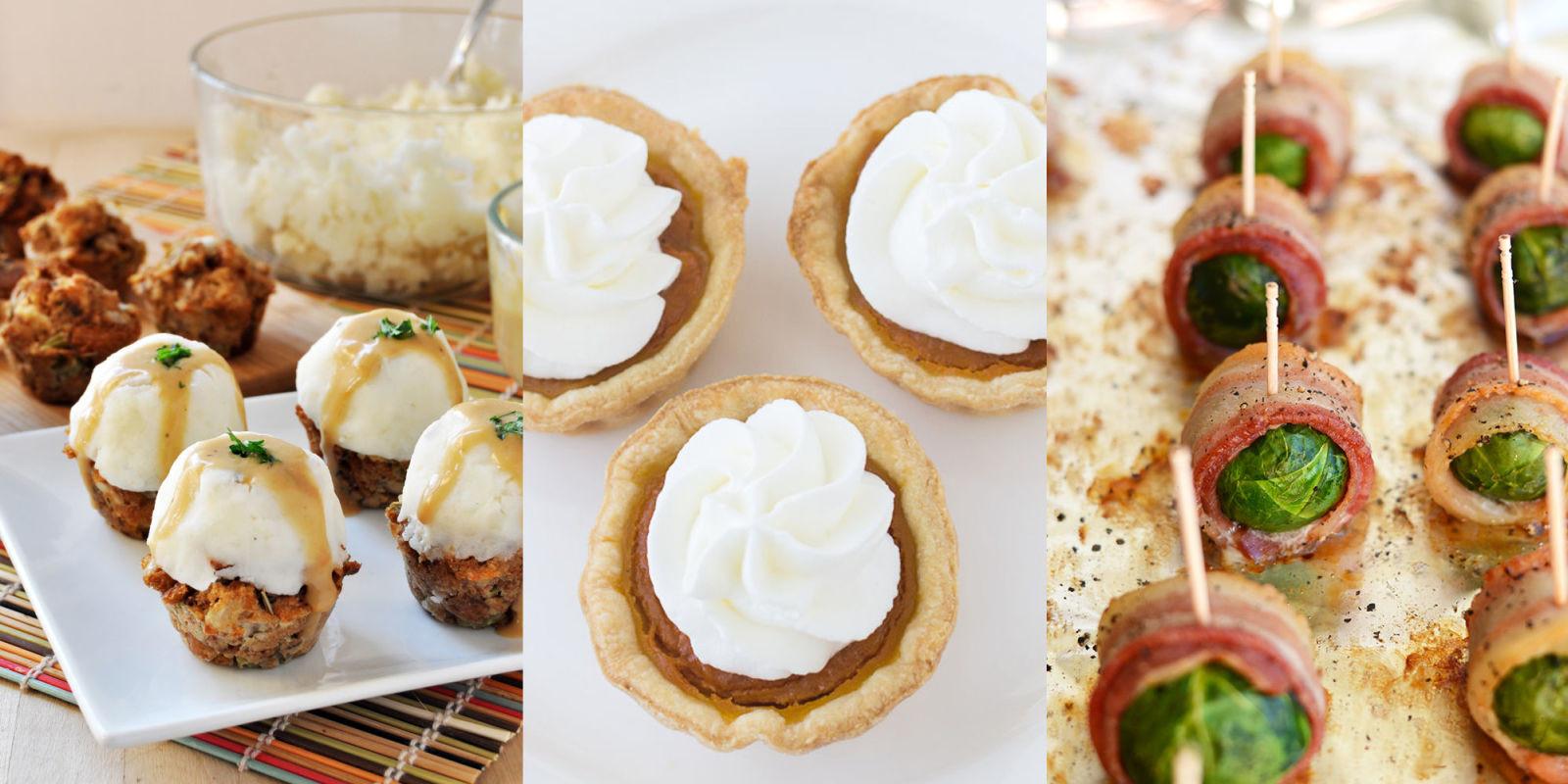 Small Thanksgiving Dinner  15 Miniature Thanksgiving & Christmas Dinner Ideas Small