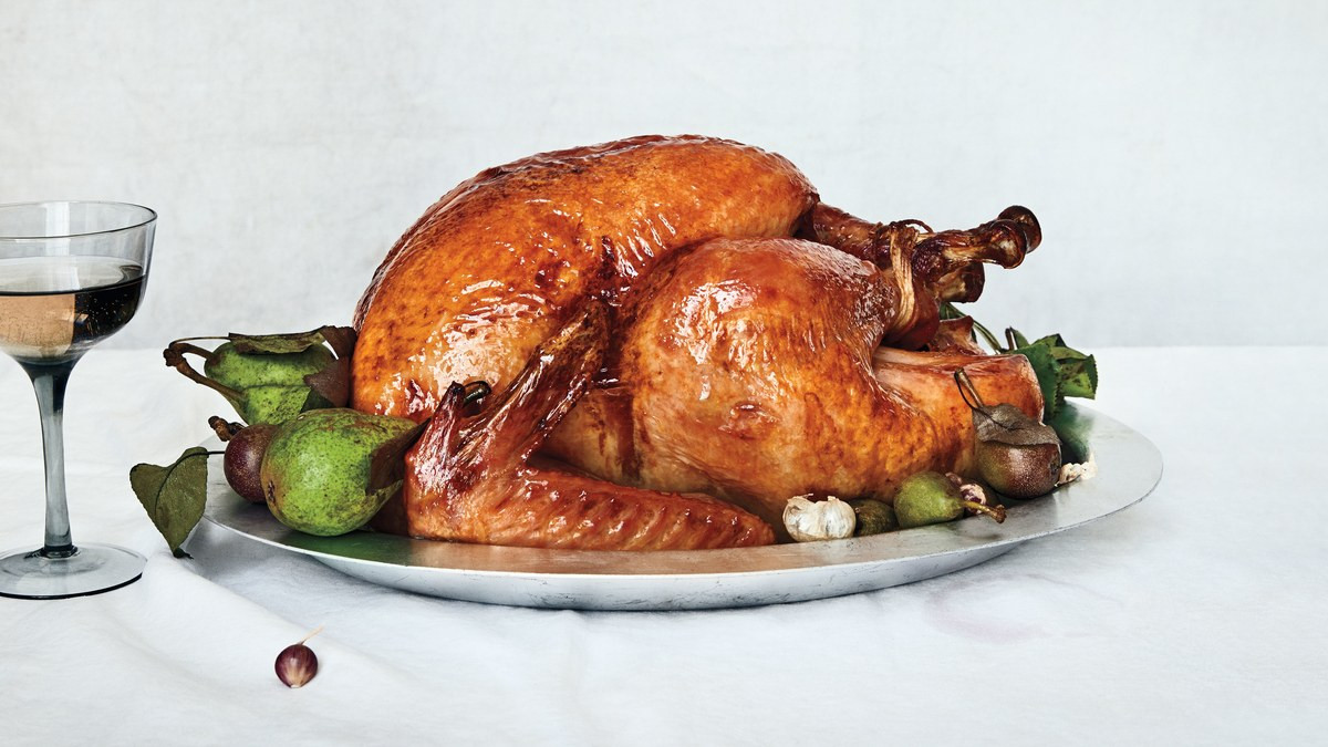 Small Thanksgiving Turkey  Dry Brined Roast Turkey Recipe