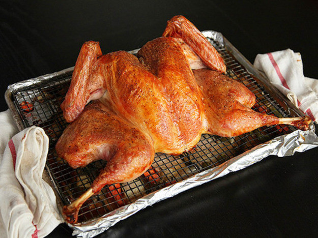 Small Thanksgiving Turkey  Video How to Cook a Spatchcock Turkey the Fastest