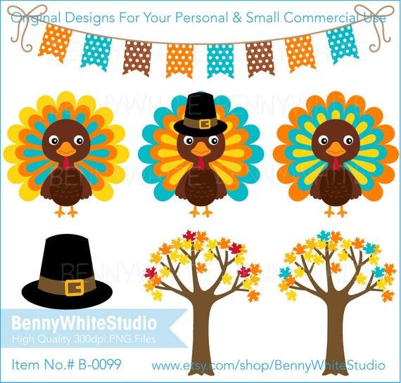 Small Thanksgiving Turkey  Thanksgiving Turkey & Maple Tree Clip Art Fall Harvest