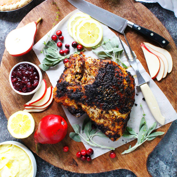 Small Thanksgiving Turkey  Easy Small Scale Thanksgiving Dinner