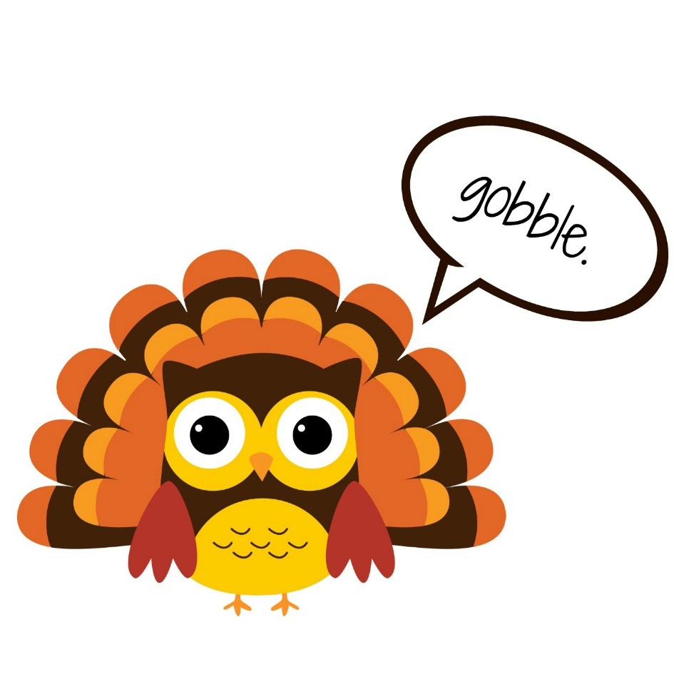 Small Thanksgiving Turkey  Thanksgiving Clipart Black And White