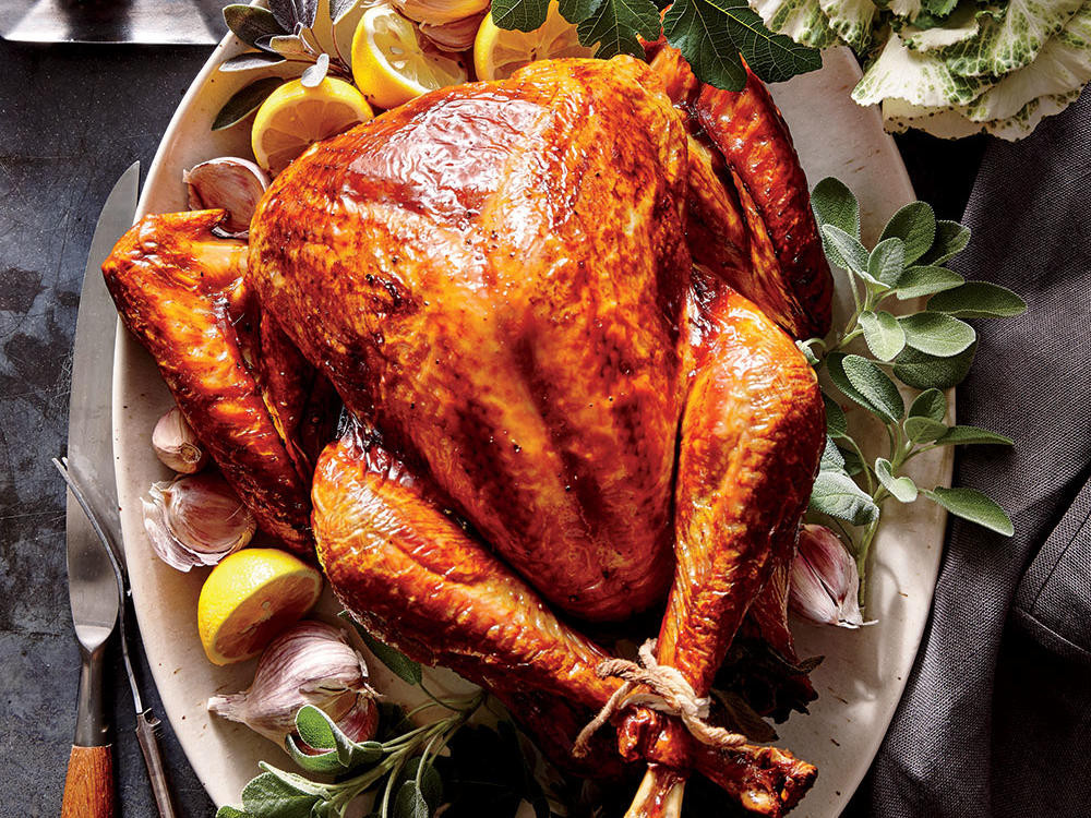 Smallest Turkey For Thanksgiving  Tuscan Turkey Recipe Cooking Light