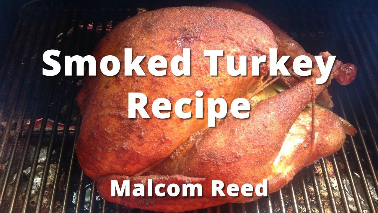 Smoked Thanksgiving Turkey  Smoked Turkey Recipe