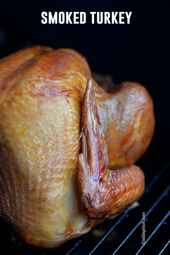 Smoked Thanksgiving Turkey  Thanksgiving Stand for and Smoking on Pinterest