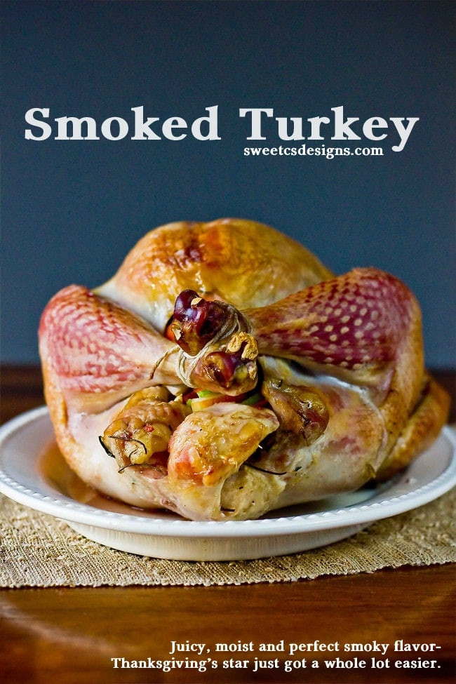 Smoked Thanksgiving Turkey  Over 25 Thanksgiving Recipes Carlsbad Cravings