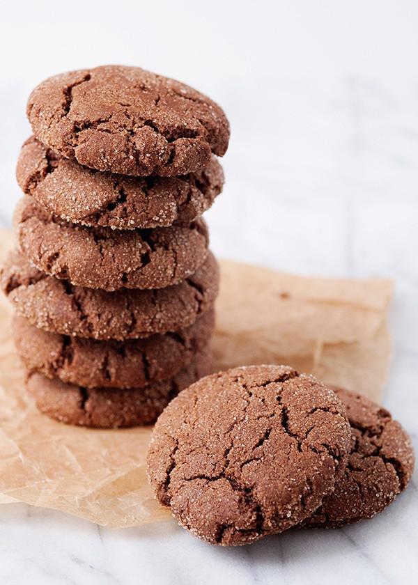 Snickerdoodle Christmas Cookies  Chocolate Snickerdoodles [Week 3 of 12 Weeks of Christmas