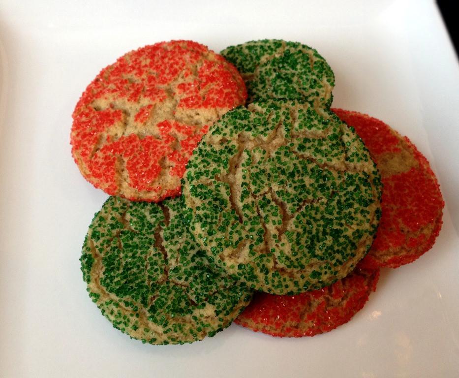 Snickerdoodle Christmas Cookies  Twelve Days of Christmas Cookies Snickerdoodles
