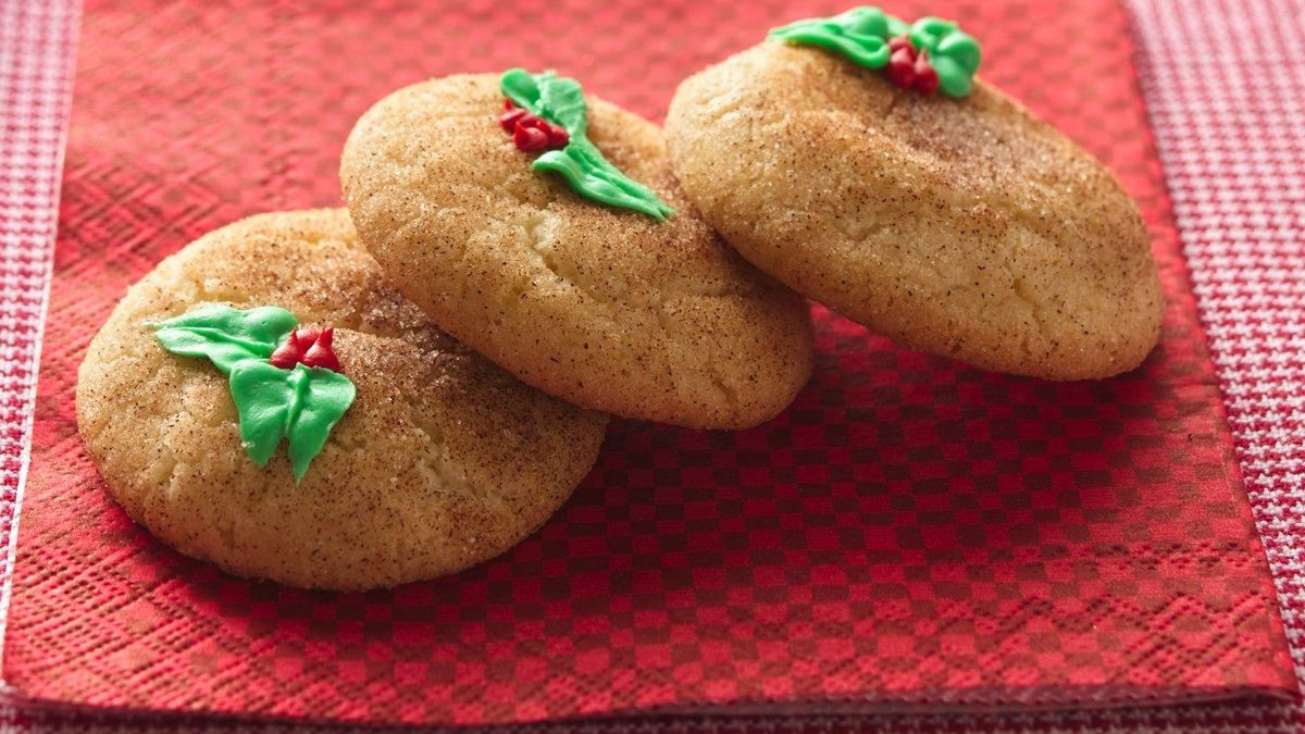 Snickerdoodle Christmas Cookies  Holiday Snickerdoodles Life Made Delicious