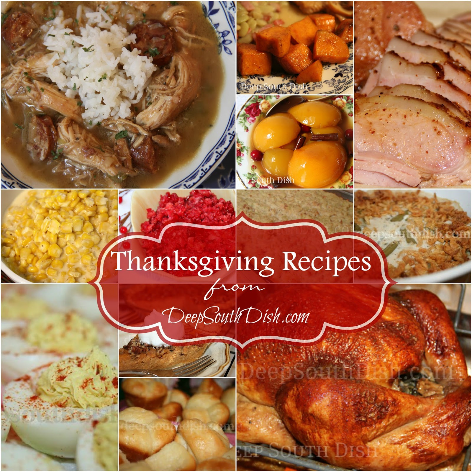 Soul Food Christmas Dinner Menu  Deep South Dish Deep South Southern Thanksgiving Recipes