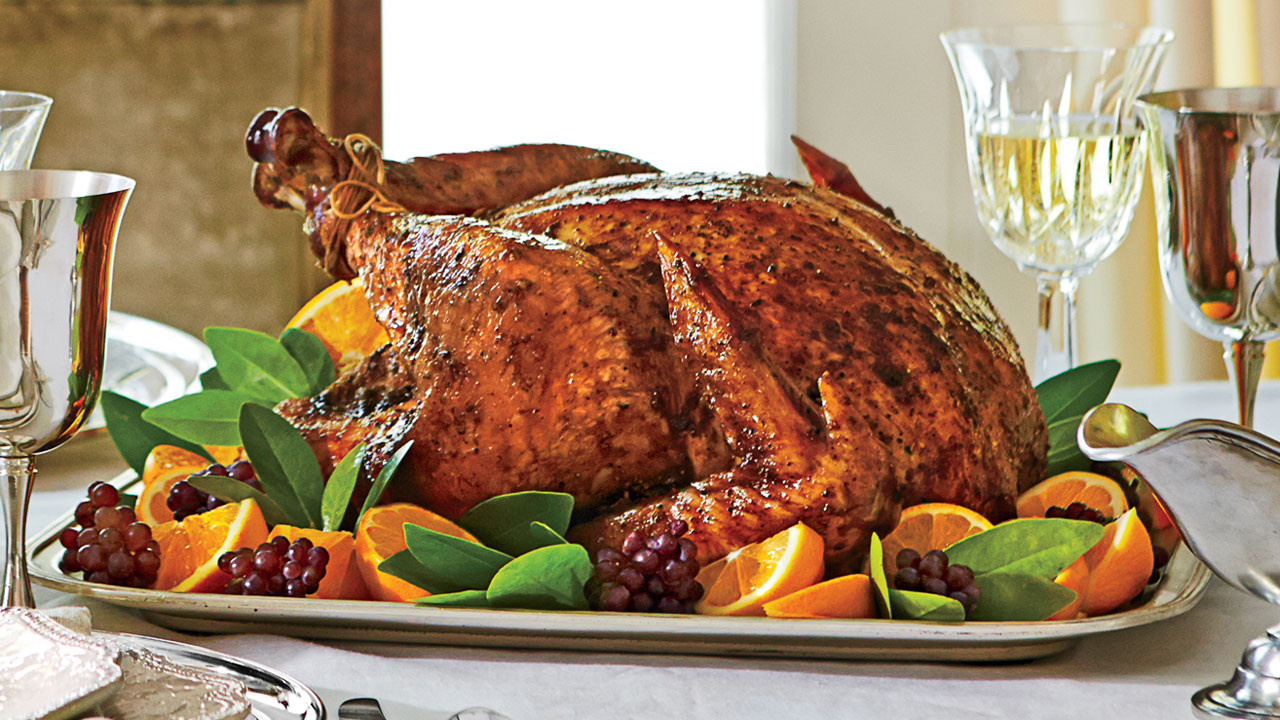 Spicy Thanksgiving Turkey Recipe  Sweet and Spicy Roast Turkey Recipe Southern Living