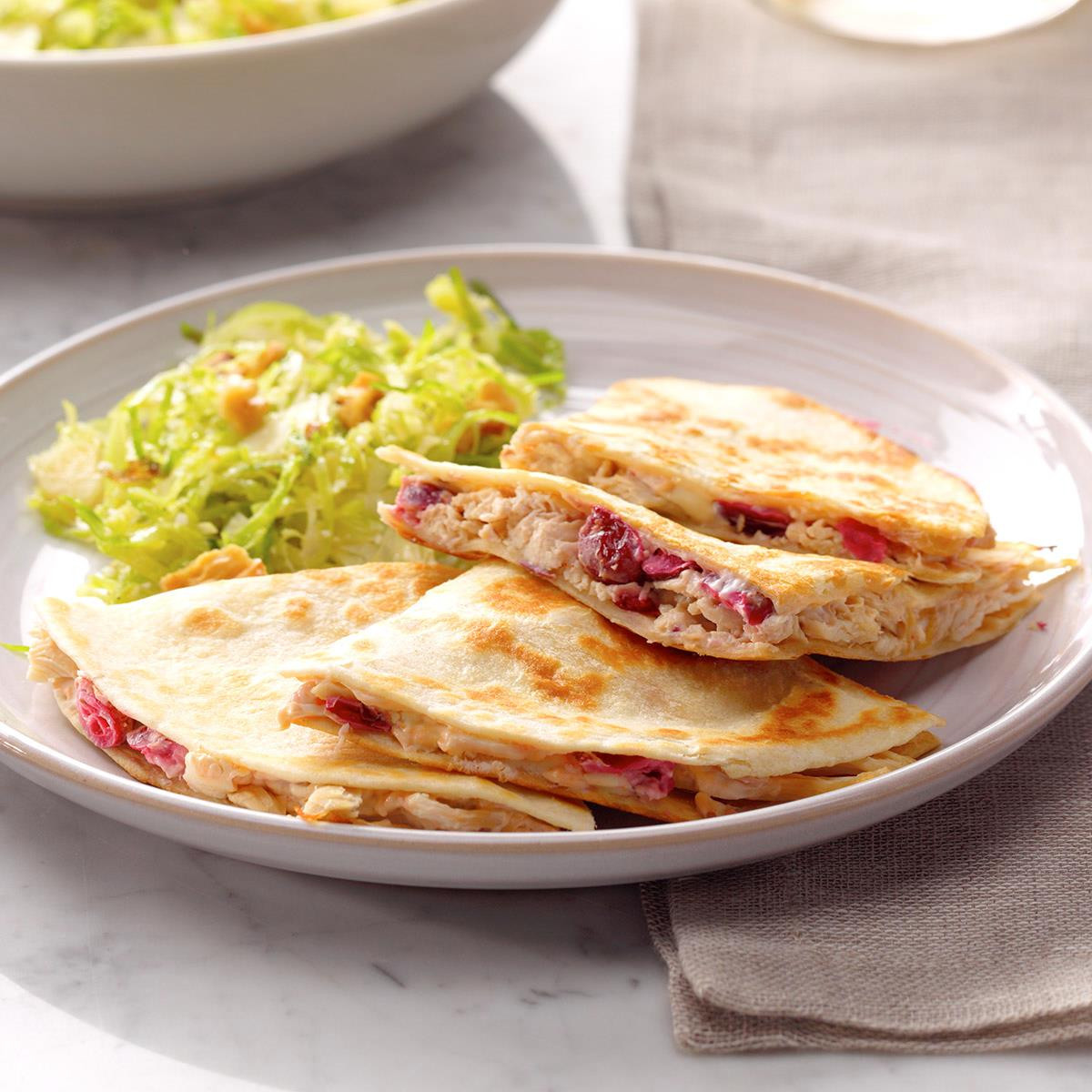 Spicy Thanksgiving Turkey Recipe  Spicy Turkey Quesadillas Recipe