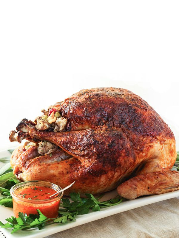 Spicy Thanksgiving Turkey Recipe  Buffalo Roasted Turkey Recipe