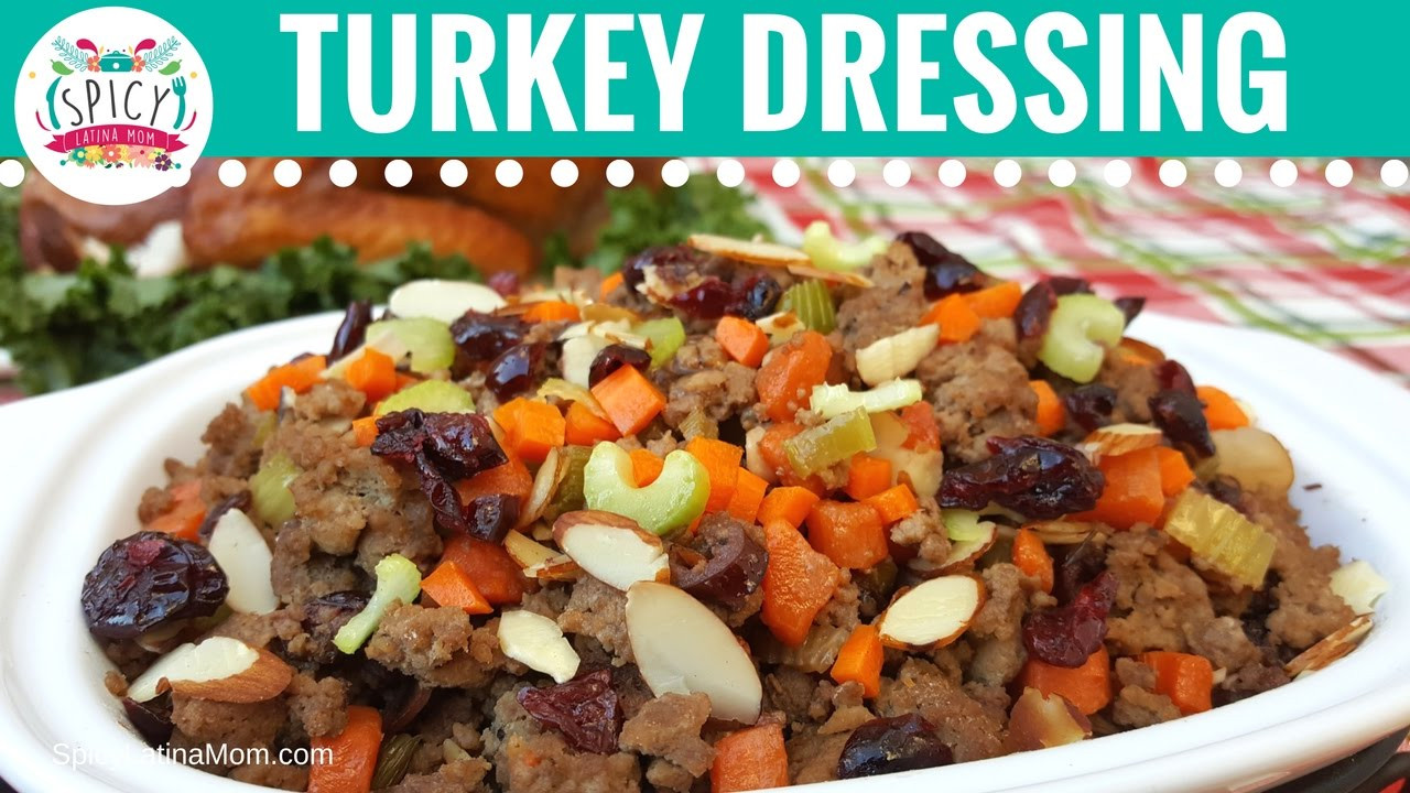 Spicy Thanksgiving Turkey Recipe  Mexican Turkey Stuffing Recipe