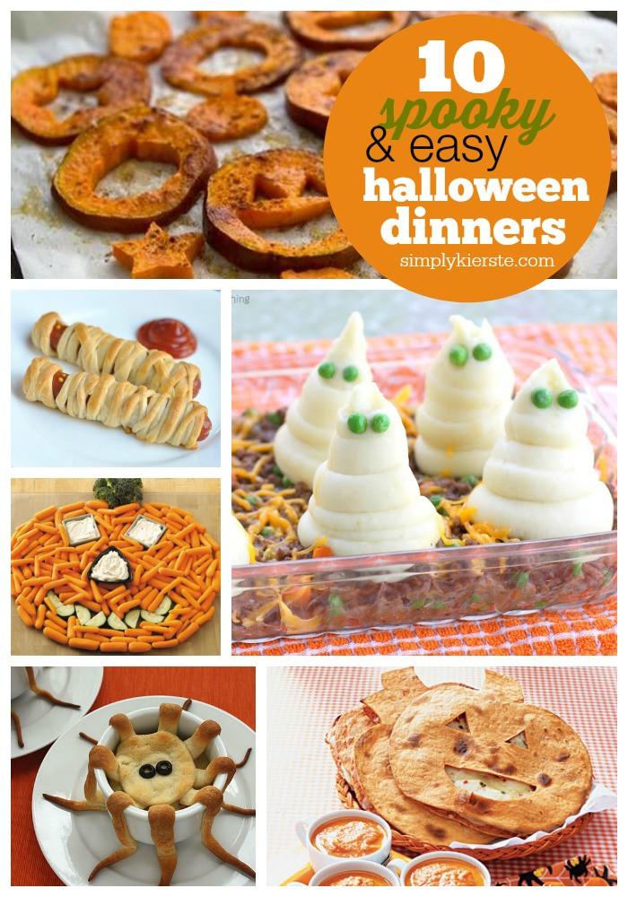 Spooky Halloween Dinners  10 Spooky & Easy Halloween Dinner Ideas