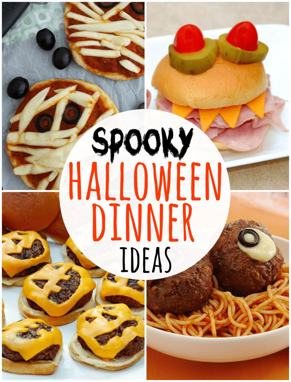 Spooky Halloween Dinners  Take Five 5 Spooky Halloween Dinner Ideas Happy Go Lucky