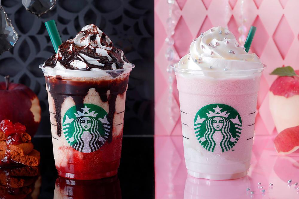 Starbucks Halloween Drinks  Starbucks Halloween Witch & Princess Frappuccino