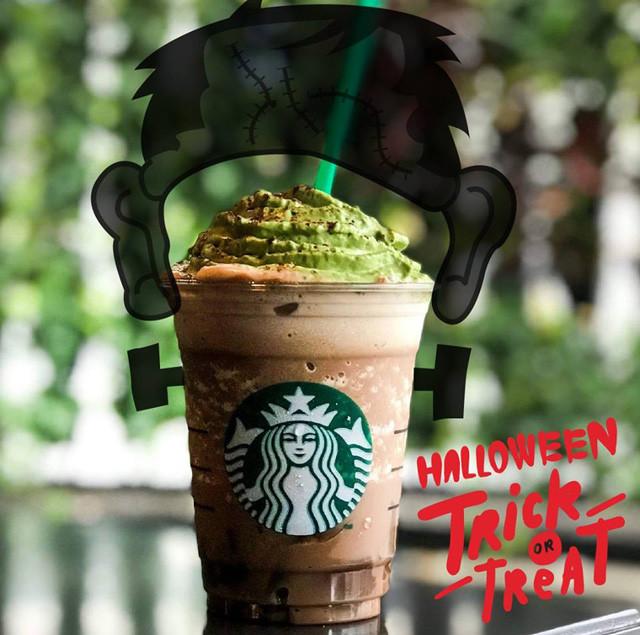 Starbucks Halloween Drinks  Starbucks Launches Franken Frappuccino for Halloween
