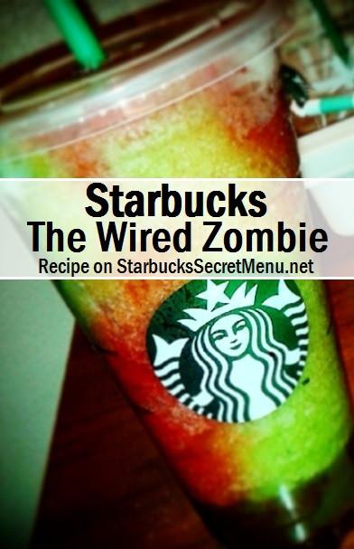 Starbucks Halloween Drinks  Starbucks The Wired Zombie
