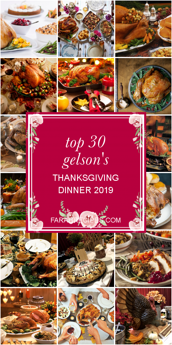 Top 30 Gelson's Thanksgiving Dinner 2019 - Most Popular Ideas of All Time