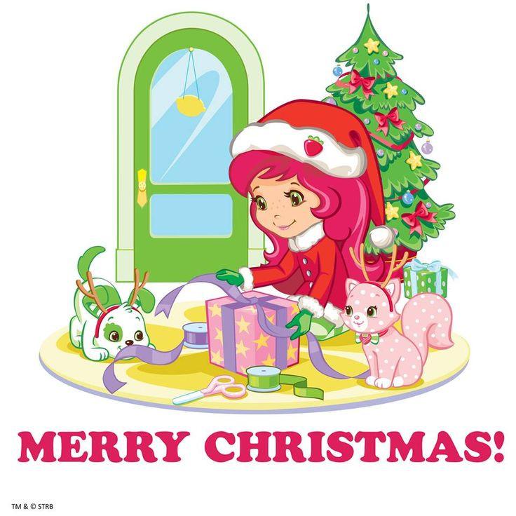 Strawberry Shortcake Christmas  1000 images about Moranguito on Pinterest