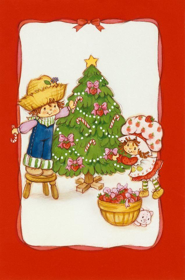 Strawberry Shortcake Christmas  Strawberry Shortcake Christmas