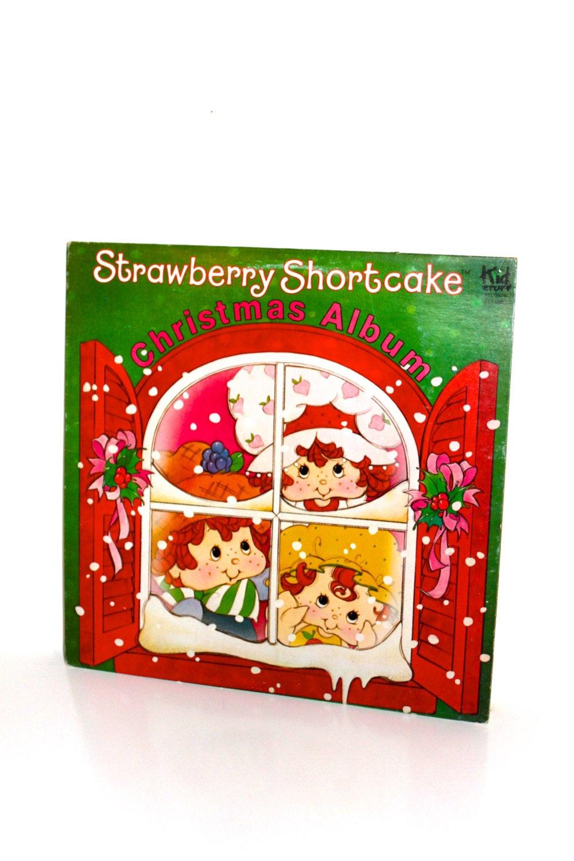 Strawberry Shortcake Christmas  Vintage STRAWBERRY SHORTCAKE CHRISTMAS by PeppermintandCocoa