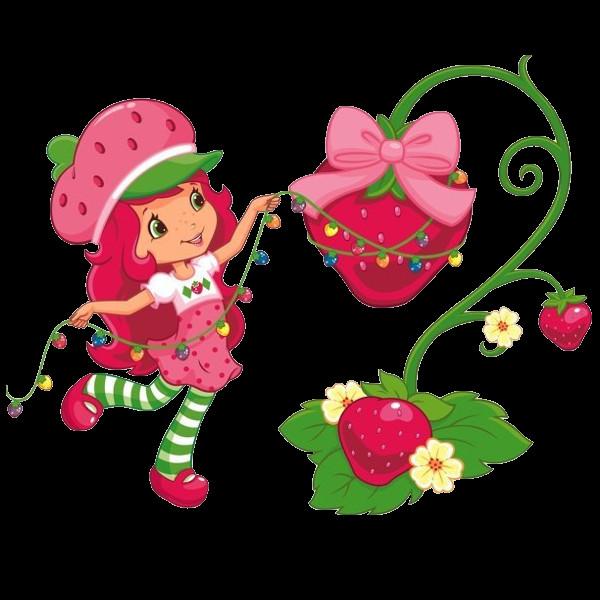 Strawberry Shortcake Christmas  Strawberry Shortcake Clipart Illustrations s