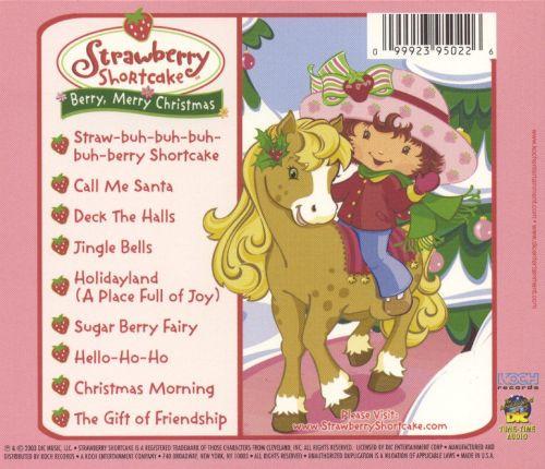 Strawberry Shortcake Christmas  Strawberry Shortcake Berry Merry Christmas Strawberry