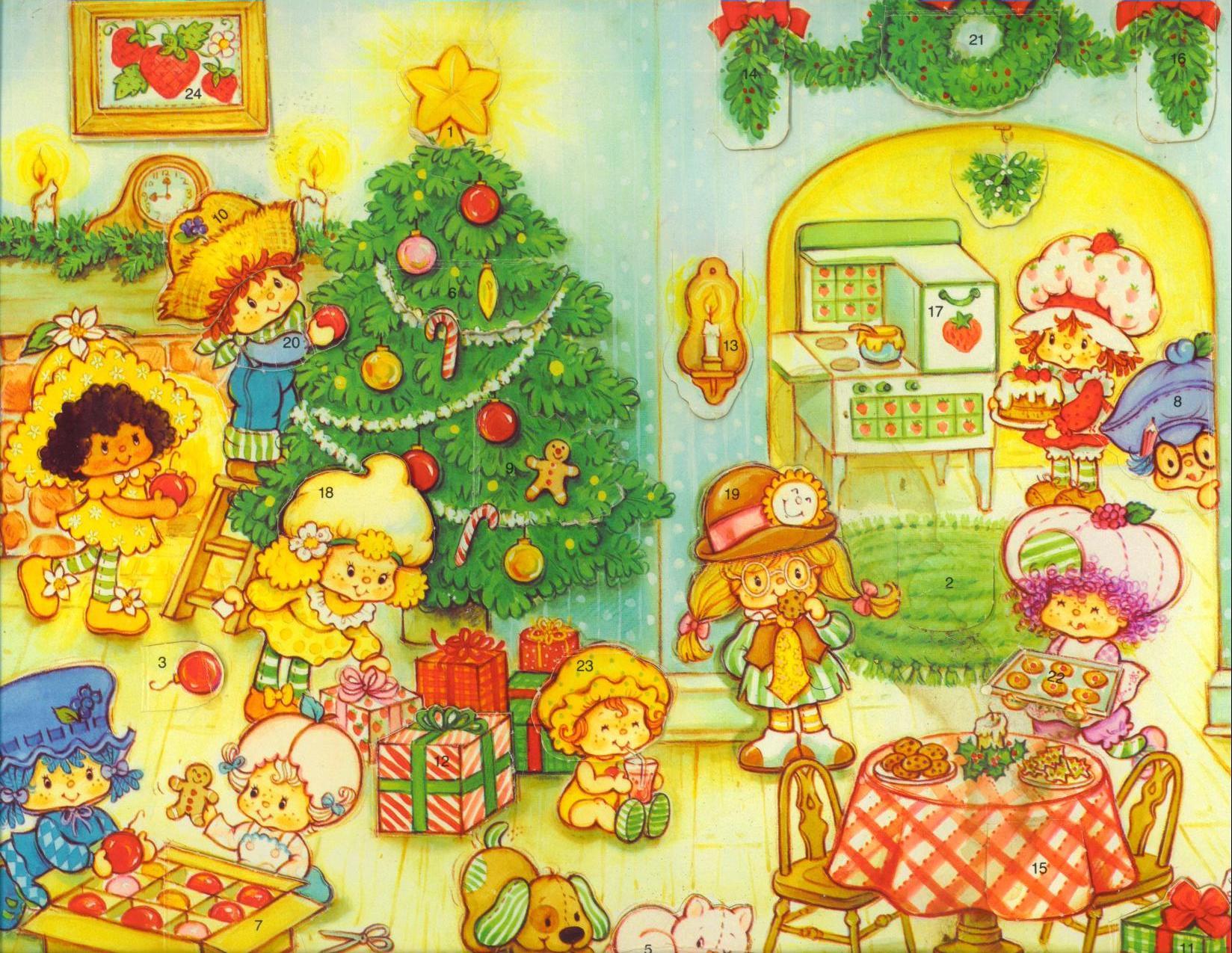 Strawberry Shortcake Christmas  ChristmasMain