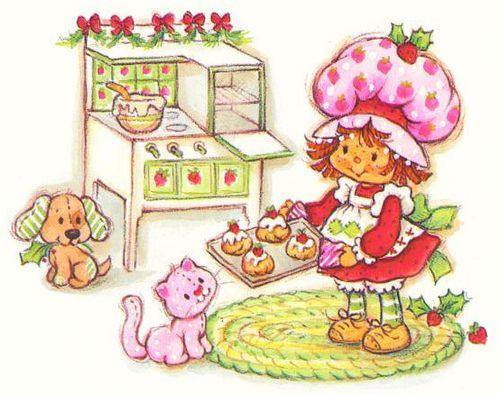 Strawberry Shortcake Christmas  Gourmandises de Noël