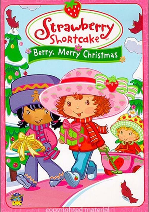 Strawberry Shortcake Christmas  Strawberry Shortcake Berry Merry Christmas DVD 2003
