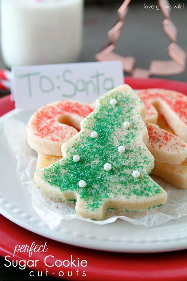 Sugar Cookies Recipe Christmas  Best Christmas Cookie Recipes DIY Projects Craft Ideas
