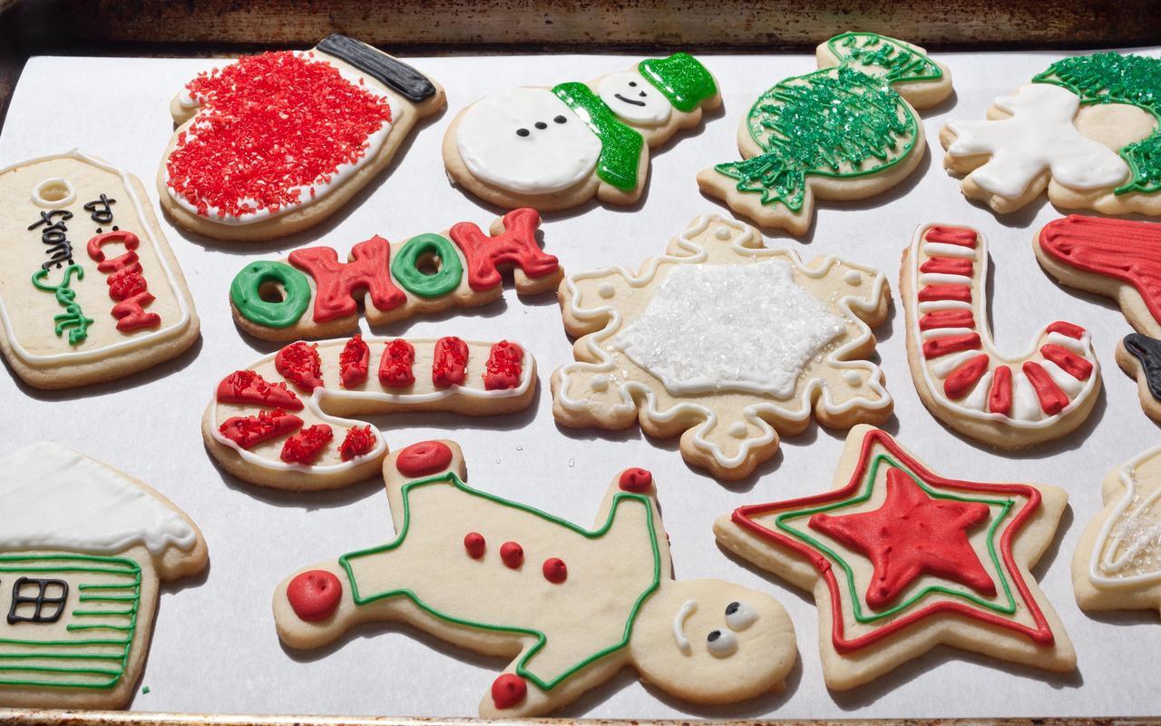 Sugar Free Christmas Desserts  Christmas Sugar Cookies Christmas dessert recipes