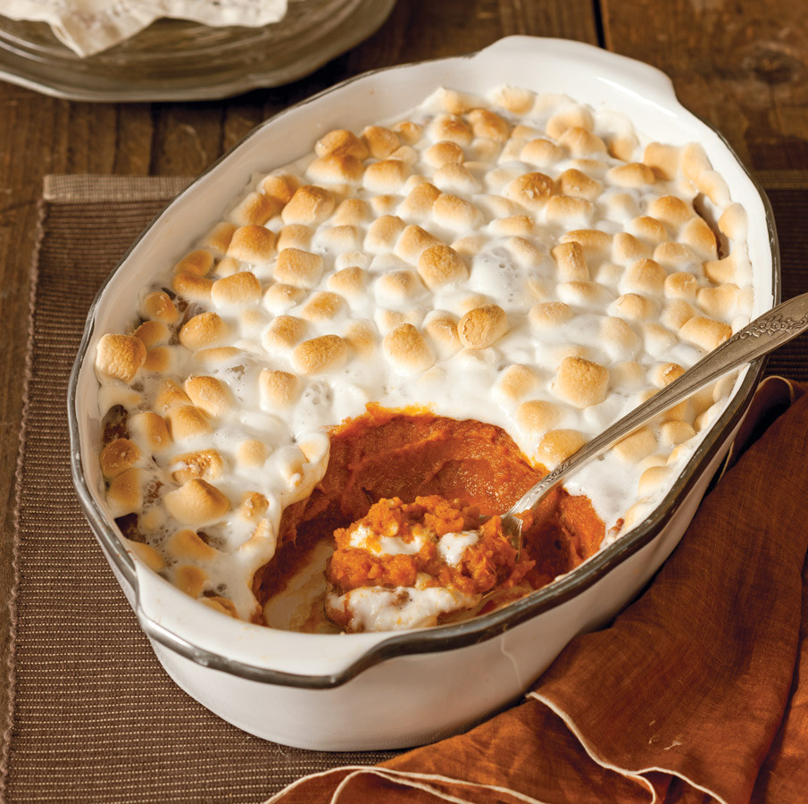 Sweet Potatoes Thanksgiving Marshmallows  5 of Our Favorite Thanksgiving Side Dishes