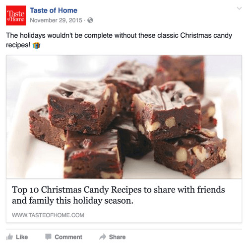 Taste Of Home Christmas Candy  10 Marketing Tips for the Holiday Season Social