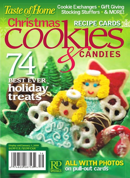 Taste Of Home Christmas Candy  Download Taste of Home – Christmas Cookies&Can s 2008