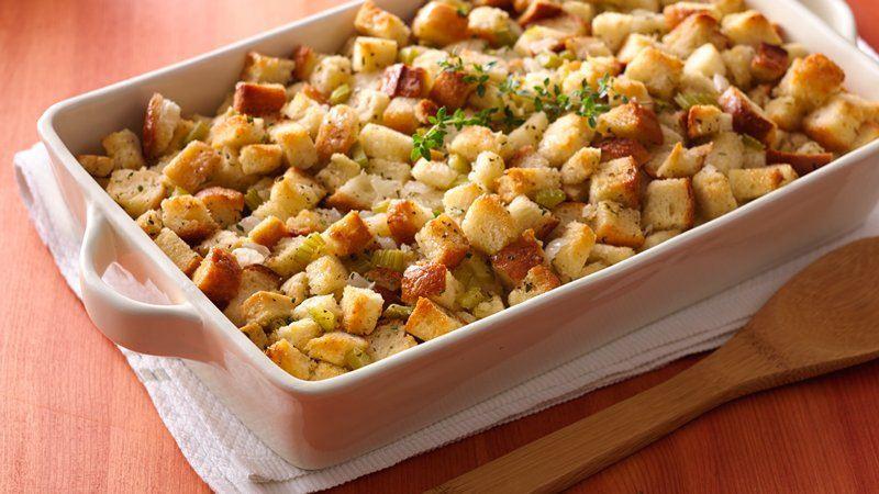 Thanksgiving Bread Stuffing  Bread Stuffing recipe from Betty Crocker