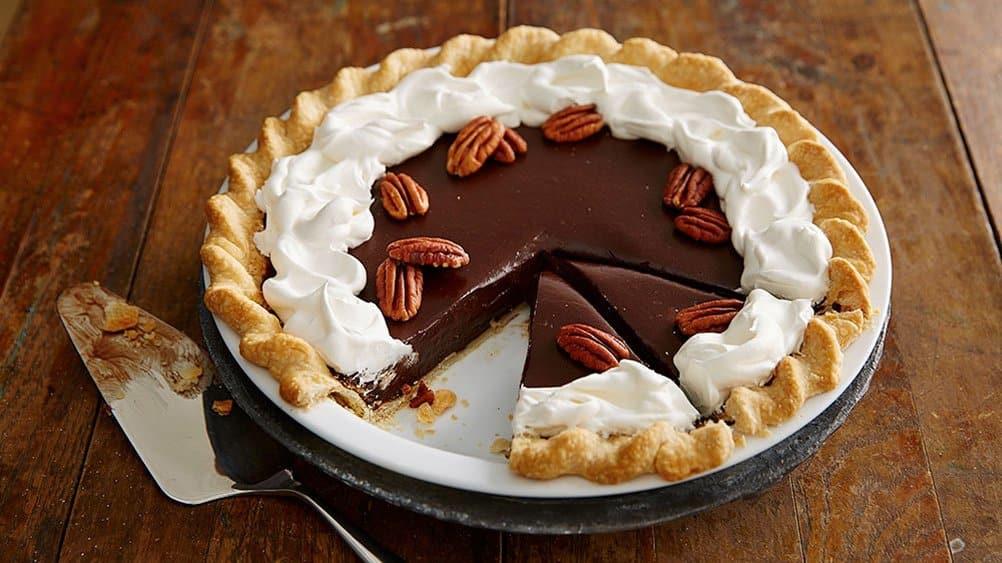Thanksgiving Chocolate Pie  Thanksgiving Pies Editors' Picks from Pillsbury