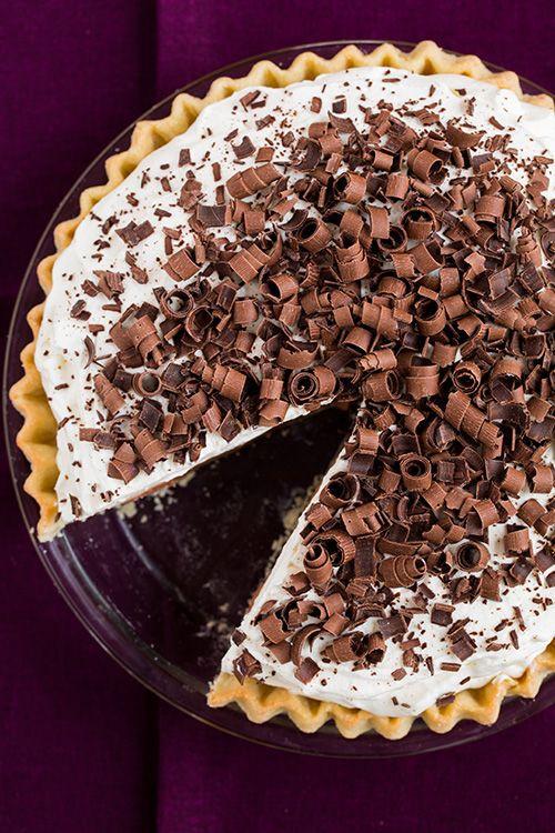 Thanksgiving Chocolate Pie  Thanksgiving Pie Recipes
