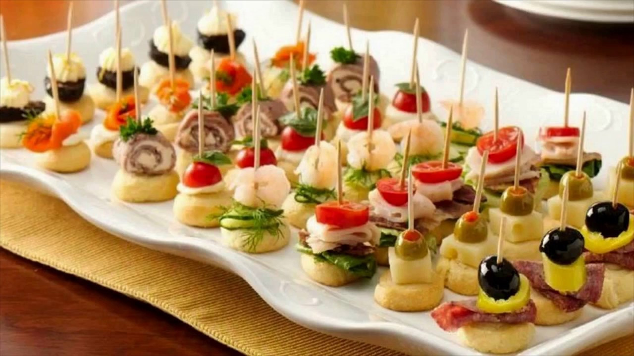 Thanksgiving Cold Appetizers  Party Appetizers Finger Food