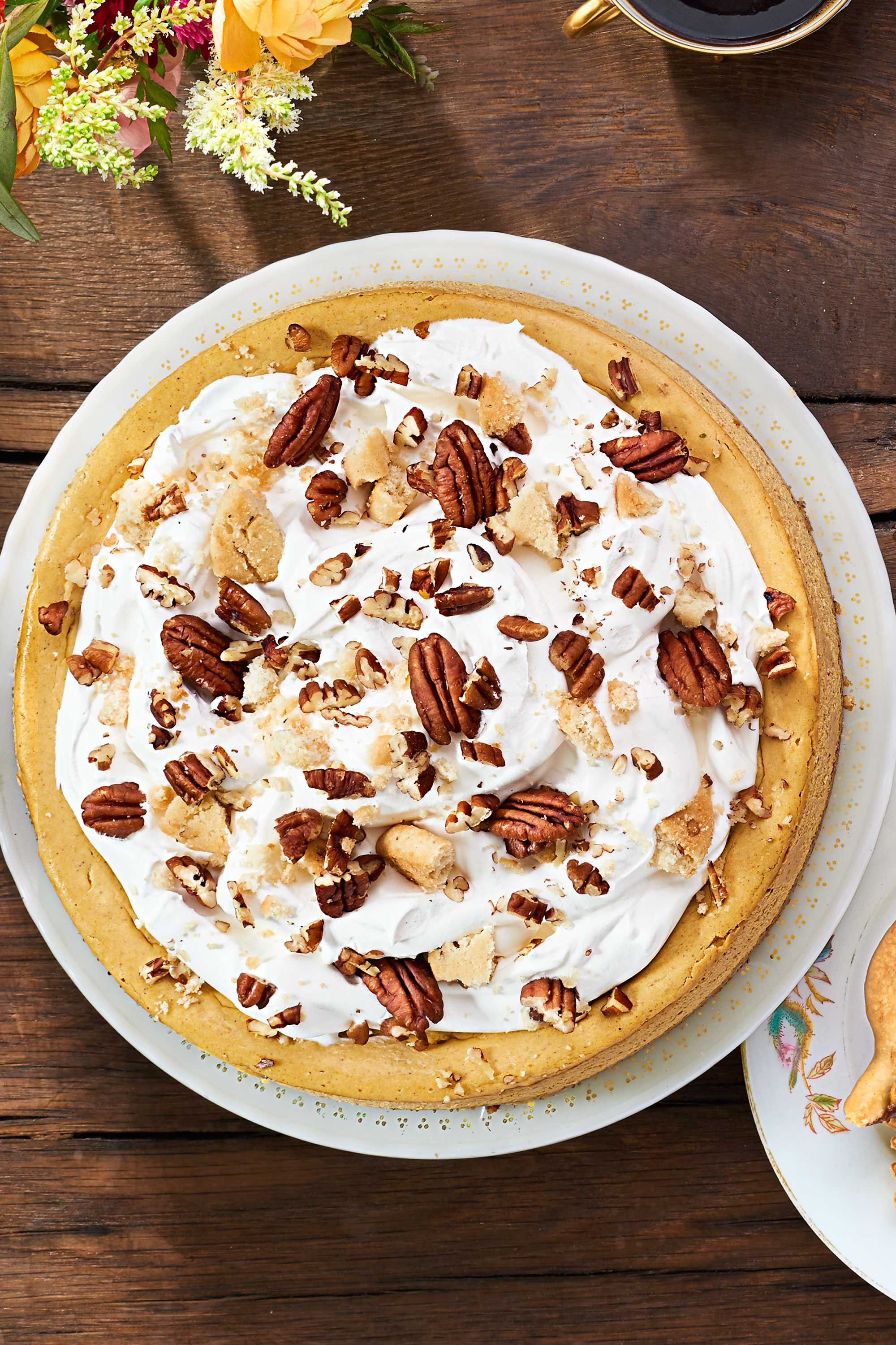 Thanksgiving Desserts Pictures  27 Easy Pumpkin Cheesecake Recipes How To Make Pumpkin