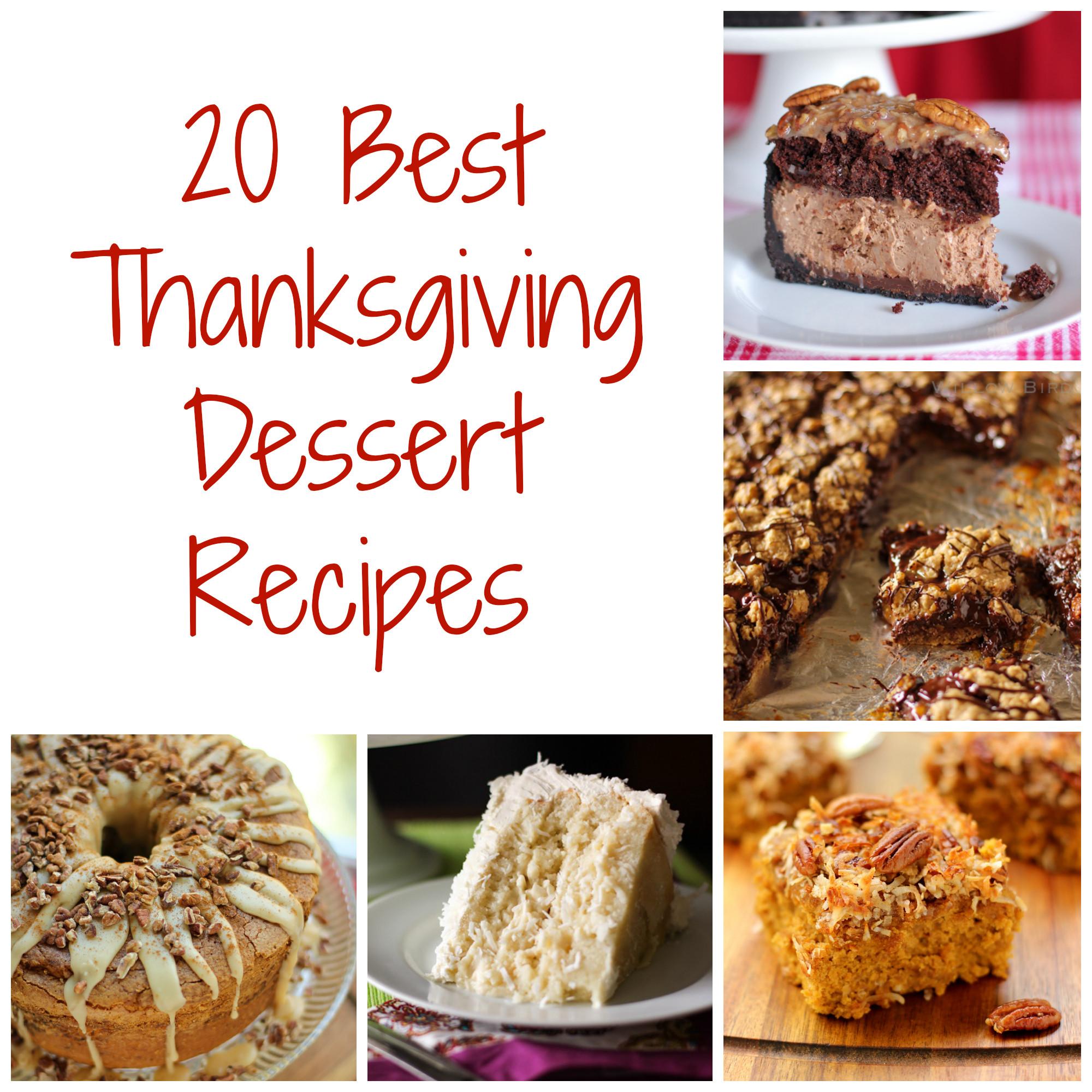 Thanksgiving Desserts Pictures  Thanksgiving Dessert Recipes Willow Bird Baking