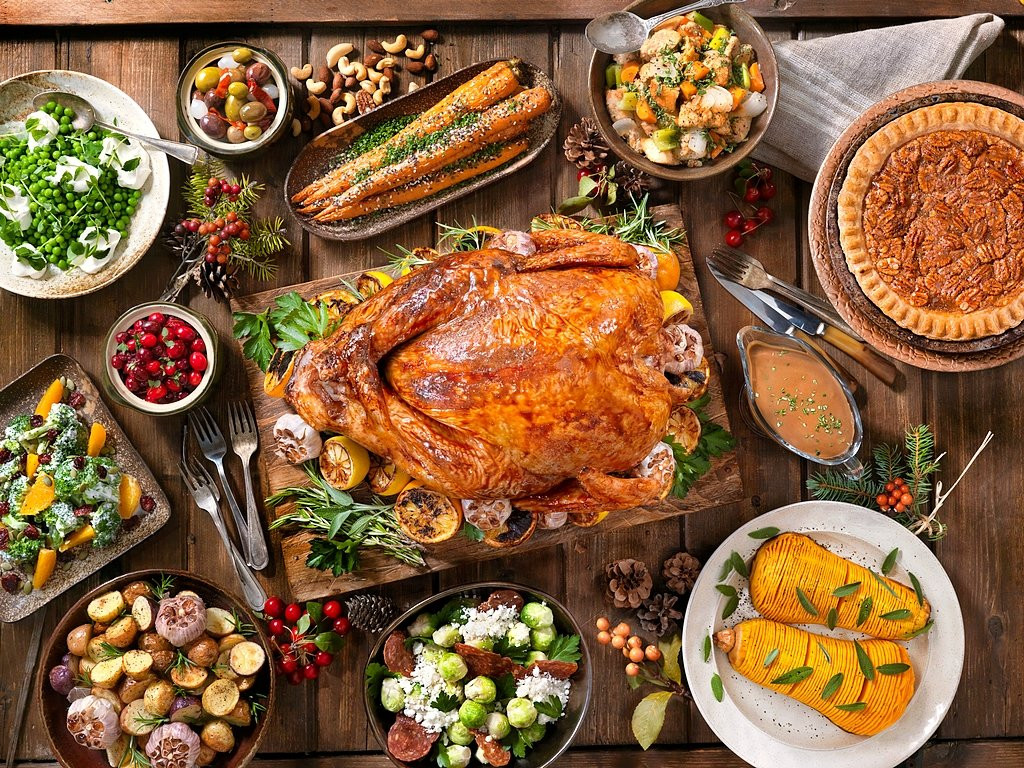 Thanksgiving Dinner 2019 Restaurants  Thanksgiving Turkey Holiday Wallpaper