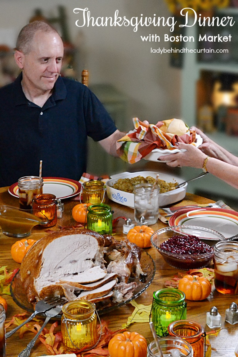 Thanksgiving Dinner Catering  Thanksgiving Dinner with Boston Market