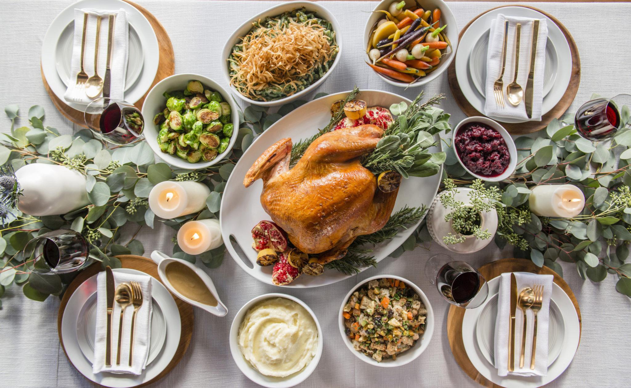 Thanksgiving Dinner Catering  THANKSGIVING DINNER TO GO Sapphire Laguna