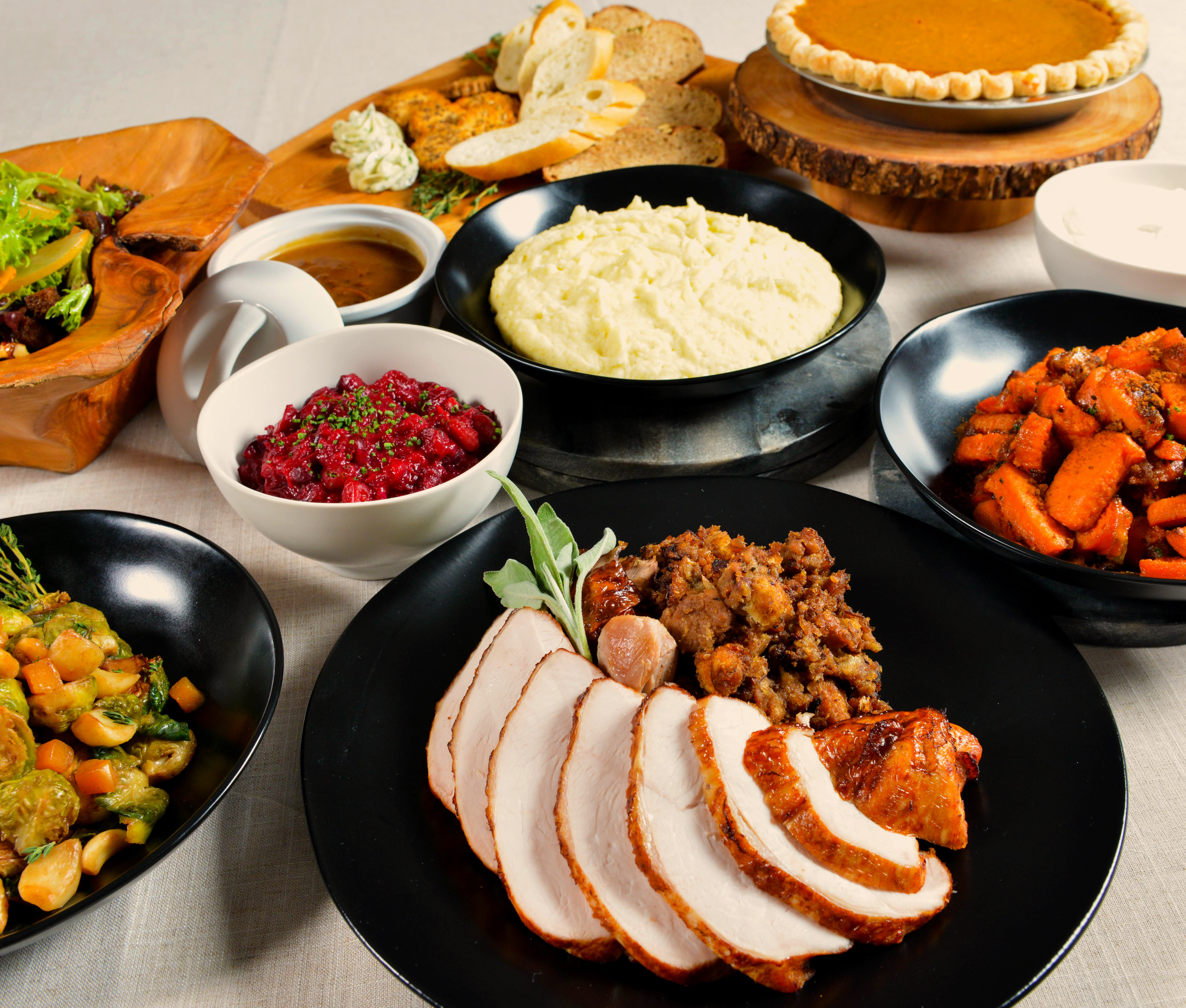 Thanksgiving Dinner Catering  catering gourmondoco