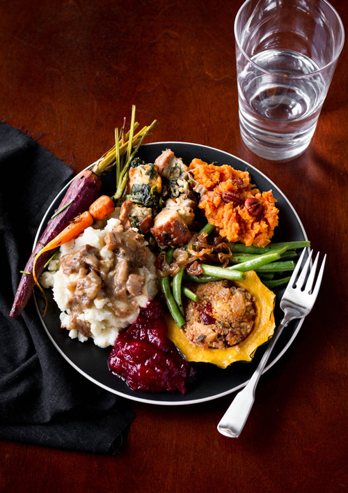 Thanksgiving Dinner Dishes  A Ve arian Thanksgiving Menu